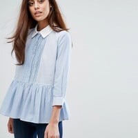 French Connection Stripe Shirt at asos.com