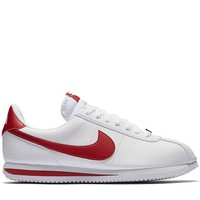 Nike Classic Cortez White / Gym Red