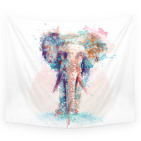 Society6 Elephant Wall Tapestry