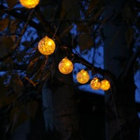 SAVE Aurora Glow Solar String Lights