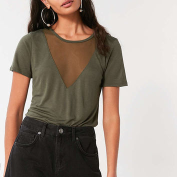 Project Social T Midnight Mesh Tee - Urban Outfitters