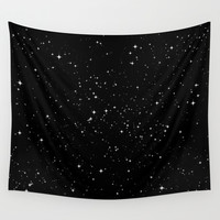 Stars Wall Tapestry by Jorge Lopez