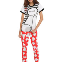Disney Big Hero 6 Baymax Striped Sleep Set