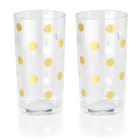 kate spade new york: highball glasses - raise a glass