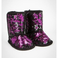 Infant Allover Black Sequin Boots