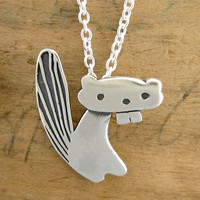 The Cutest Beaver Ever by marmar on Etsy