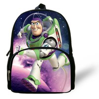 12inch Printing Backpack Buzz Lightyear Toy Story Bag School Backpack Kids Bag Boys Aged 1-6 Mini Bag Child Mochilas Infantil