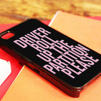 Beyoncé Partition Lyric Cover Case iPhone 4/4s, iPhone 5/5s and Samsung Galaxy S3/S4 color Black or White