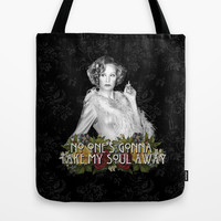 Elsa Mars: Gods and Monsters Tote Bag by Dan Ron Eli