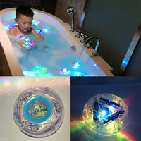 Colorful LED Light Baby Toys Funny Bathroom Toys Waterproof in Tub Kids Toys Bath Toys