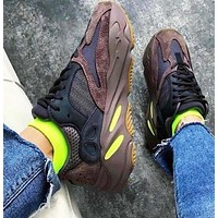 Bunchsun Adidas Yeezy 700 Boost Sneakers Fashion Casual Running Sport Shoes Coffee