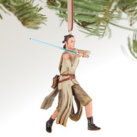 Disney Store 2016 Star Wars Rey Sketchbook Christmas Ornament New with Tags