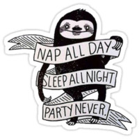 Nap All Day, Sleep All Day, Party Never