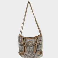 AEO Buckle Brocade Satchel   American Eagle Outfitters
