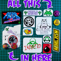 Sticker pack - The Mega Pack of Awesomeness
