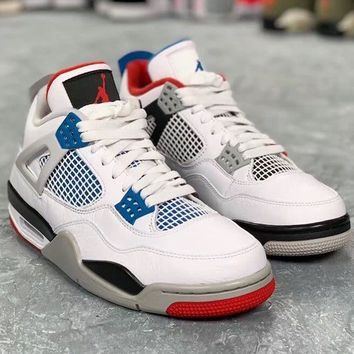 "Air Jordan 4 AJ4 ""what the"""