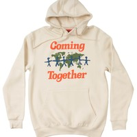 Coming Together Hoodie by Altru Apparel
