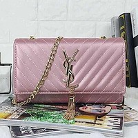 YSL Women Shopping Bag Leather Chain Satchel Shoulder Bag Crossbody/YL154