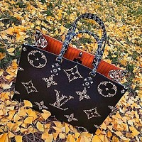 Louis Vuitton LV Newest Popular Women Leather Tote Crossbody Satchel Shoulder Bag Handbag