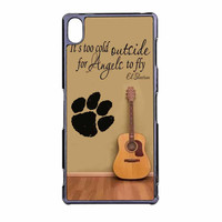 Ed Sheeran Guitar And Song Quotes Sony Xperia Z3 Case