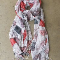 Rainy Day Scarf [3908] - $14.00 : Vintage Inspired Clothing & Affordable Fall Frocks, deloom   Modern. Vintage. Crafted.