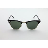 Brand New Authentic RayBan 3016 Clubmaster Black W0365 49-21-140