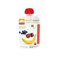 HappyBaby - Organic Stage 2 Baby Food - Banana, Beets & Blueberry