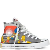 Converse - The Simpsons Chuck Taylor All Star - Hi - Grey Violet / Multi
