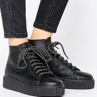 ASOS ANYTIME Creeper Ankle Boots at asos.com
