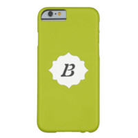 ADD YOUR INITIAL HERE! ACID GREEN IPHONE 6 CASES iPhone 6 CASE