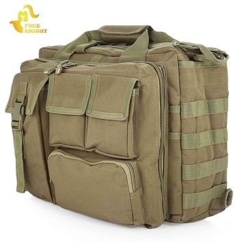 Free Knight Tactical Shoulder Bag Outdoor Molle Military Messenger Bag Computer Handbag Briefcase Laptop Camera Shoulder Bag