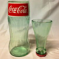 CocaCola Soda Pop Bottle Shot Glass Chaser by RandomCraftsBySundee