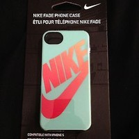 Brand New Nike Just Do It, Fade, or Home Plate iPhone 5 case holder BLACK, PINK