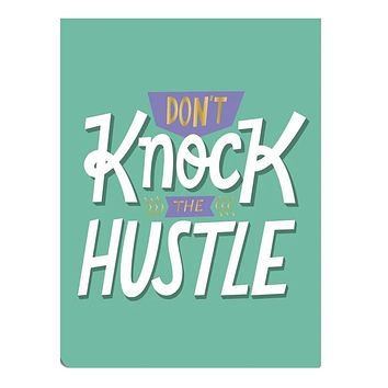 Don't Knock the Hustle Pocket Note with Magnet