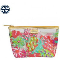 Simply Southern Jungle Cosmetic Bag-Pink