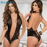 New Arrival  Women Sexy Lingerie Chest A File Open Underwear M9X20