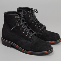 chippewa - original chippewa 6 service boots black suede