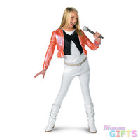 Girl's Costume: Hannah Montana with Pink Jacket-Small