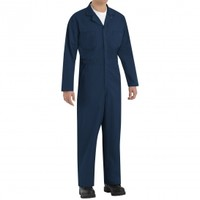 Red Kap CT10 Twill Action Back Coveralls - Navy | FullSource.com