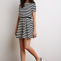 Layered Stripe Dress