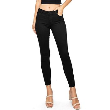 Sustainable Mid-Rise Skinny Jeans