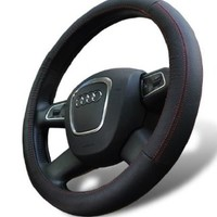 Leather Steering Wheel Cover for Mercedes Benz Universal Fit