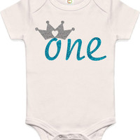 1st Birthday Shirt, First Birthday Outfit, First Birthday Onesuit...