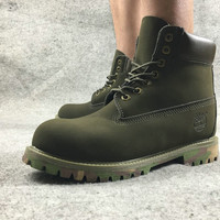 """""""Timberland"""" Timberland boots leather men's shoes day Martin mulan female boots kick not bad work boots"""