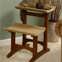 Double Cat Seat Cat Furniture - Early American