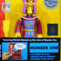 Number One The Simpsons World of Springfield Intelli-Tronic Playmates Series 12