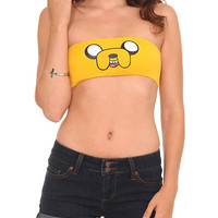 Adventure Time Jake Face Bandeau Bra | Hot Topic