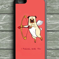 I Pug Love iPhone 6 Plus Case