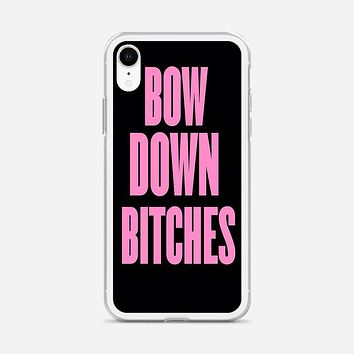 Bow Down iPhone XR Case