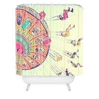 Shannon Clark Dizzying Heights Shower Curtain